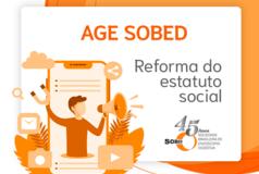 AGE SOBED - REFORMA DO ESTATUTO SOCIAL