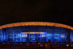 Arena Fonte Nova ganha nova iluminação pelo Março Azul